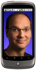 Google Android chief Andy Rubin