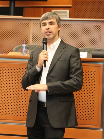 Google - Larry Page in the European Parliament -- 17-June-2009