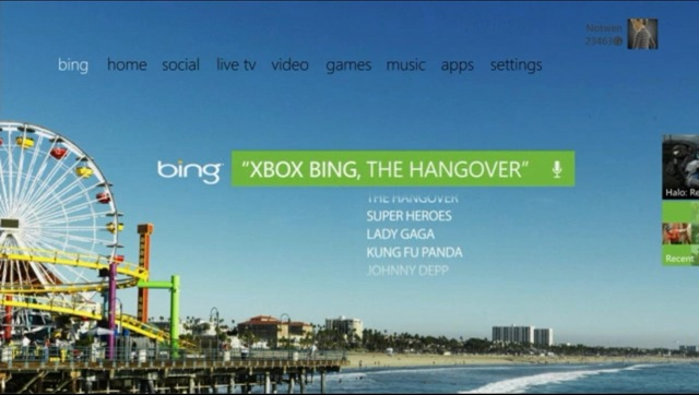 Xbox Bing for Discovery
