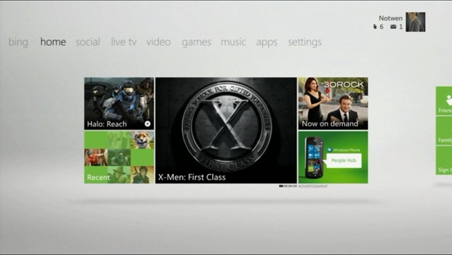 Xbox New Home