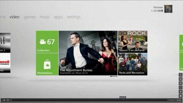 Xbox New Video