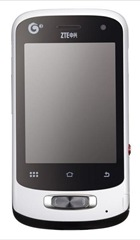 ZTE U802 - the overall appearance - sub 1000 yuan -- 11-July-2011