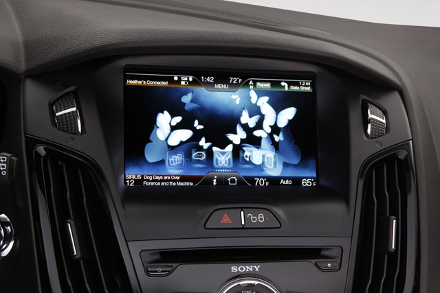 Ford SYNC automotive infotainment system -- February 2011