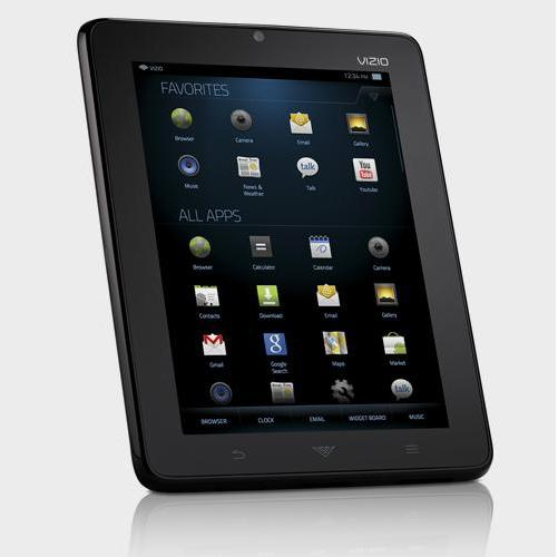 "VIZIO 8"" Tablet with WiFi - Aug-2011"