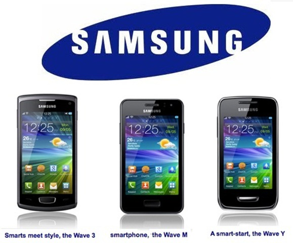 Samsung Wave 3 - Wave M - Wave Y