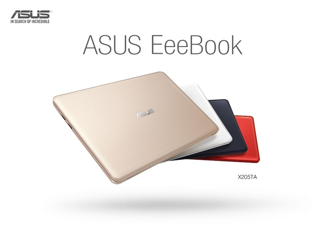 ASUS EeeBook X205-colors
