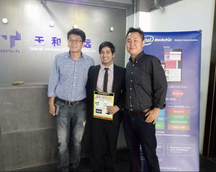 Rockchip-Intel XMM6321 based phablet order came first from Touchmate in Dubai on 29-Oct-2014