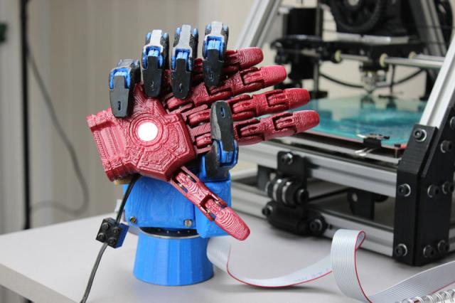 3D-printed robotic prosthetic hand prototype by Open Bionics -- October-2014