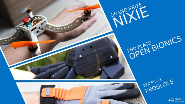 Intel Make It Wearable Winners -- 3-Nov-2014