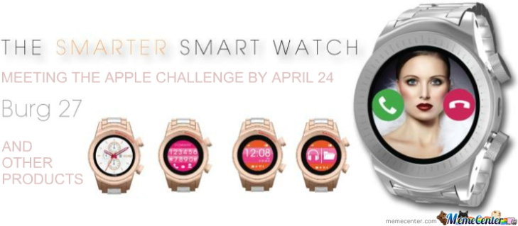 Burg 27 The PLUS Smarter Smart Watch