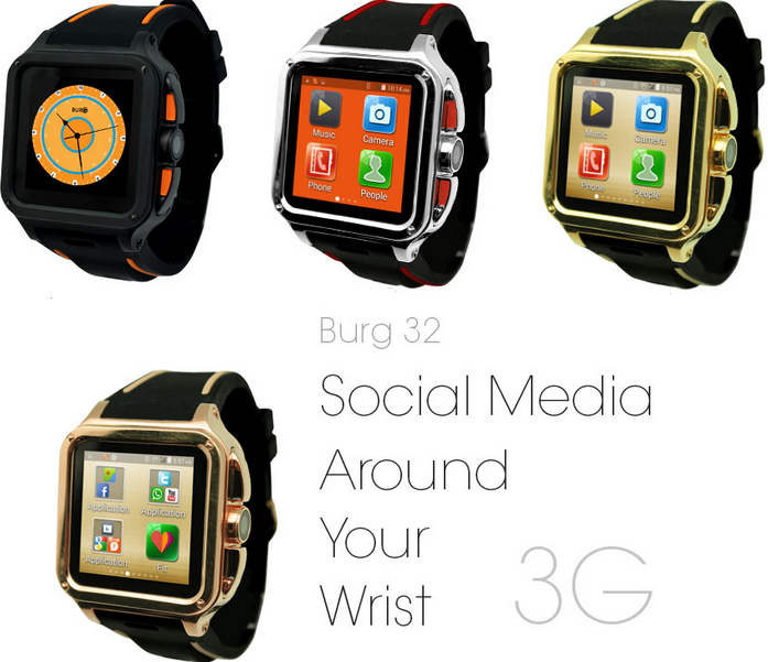 Burg 32 Smart Watch Phone
