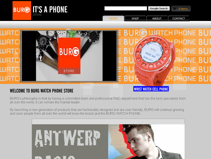 Burg Watch Phone store
