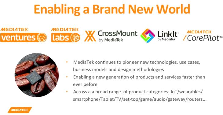 MediaTek - Enabling a Brand New World