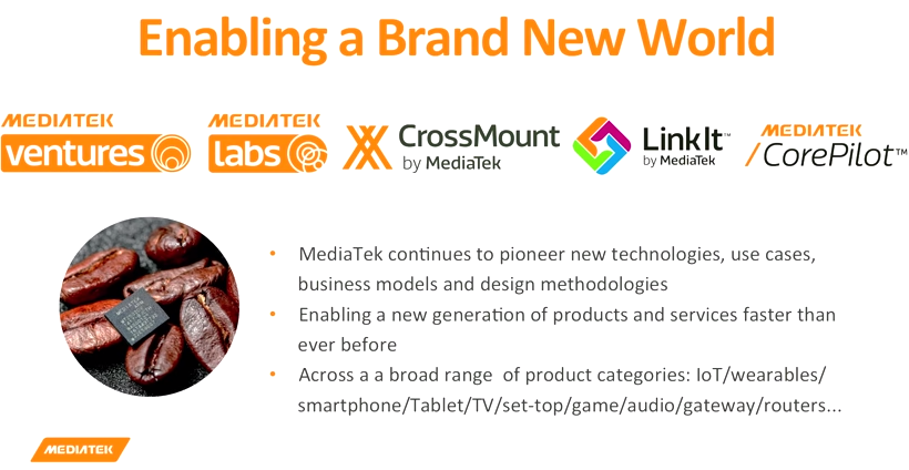 MediaTek - Enabling a Brand New World
